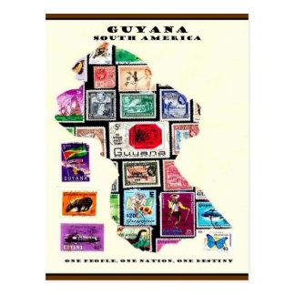 Carte Postale La république de Guyane