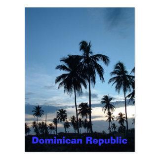 Carte Postale La République Dominicaine