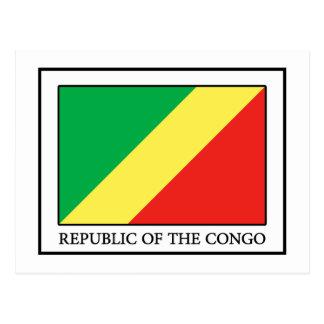 Carte Postale La République du Congo
