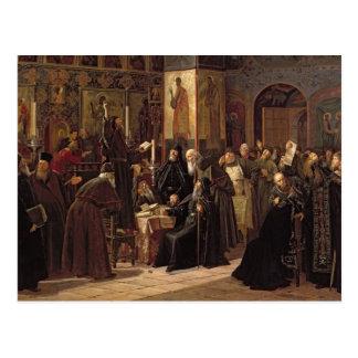 Carte Postale La révolte du monastère de Solovetsy