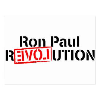 Carte Postale La révolution de Ron Paul continue