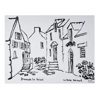 Carte Postale La Roche-Bernard, la Bretagne de Promenade du