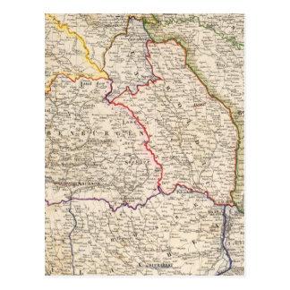 Carte Postale La Roumanie, Pologne