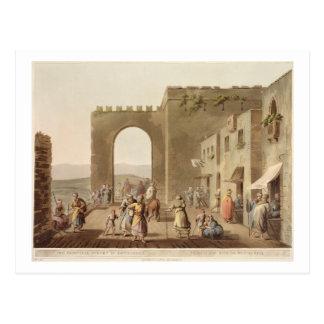 Carte Postale La rue principale à Bethlehem, des 'vues de