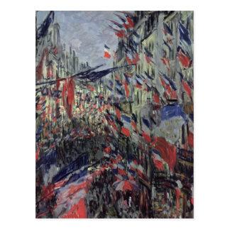 Carte Postale La rue Saint-Denis
