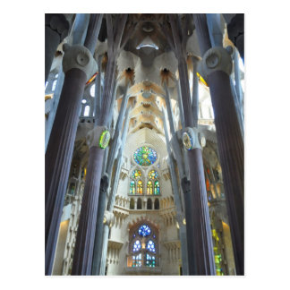 Carte Postale La Sagrada Familia