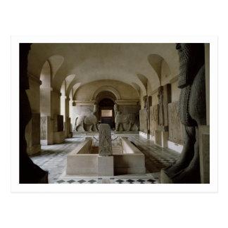 Carte Postale La salle assyrienne au Louvre à Paris (photo)