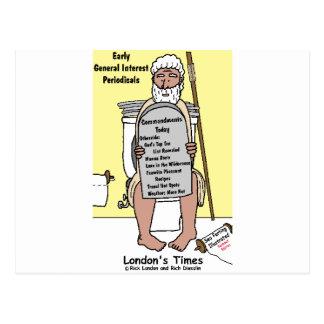 Carte Postale La salle de bains de Moïse lisant les cadeaux et