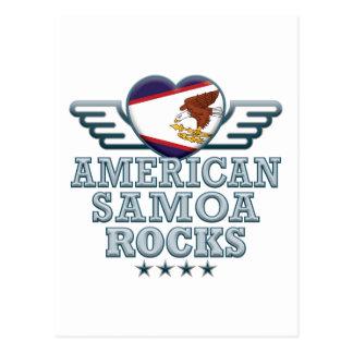 Carte Postale La Samoa américaines bascule v2