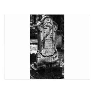 Carte Postale La savane de cimetière de Bonaventure, GA