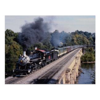 Carte Postale La savane et chemin de fer d'Atlanta, no. 750,