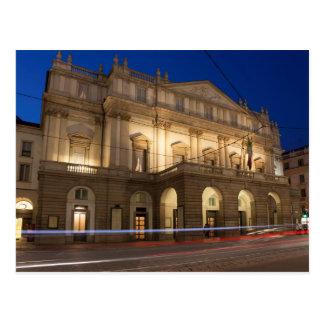 Carte Postale La Scala, Milan