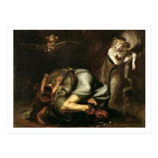 """Carte Postale La scène des sorcières """"du masque du Queens"""" par"""