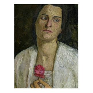 Carte Postale La sculpteuse Clara Rilke-Westhoff 1905