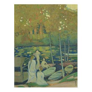 Carte Postale La Seine à Port-Marneux