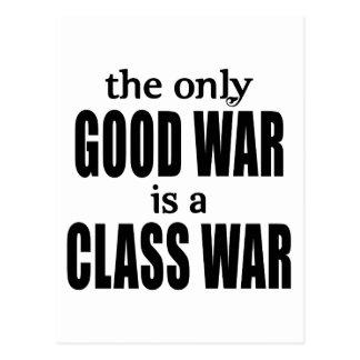 Carte Postale La seule bonne guerre est une guerre de classe