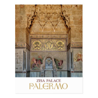 Carte Postale La Sicile - Palerme - le palais de Zisa