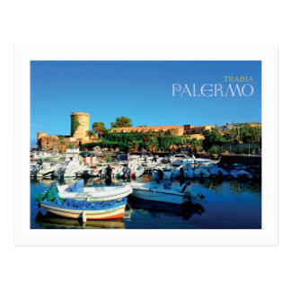 Carte Postale La Sicile - Palerme - le Trabia (encadrés)