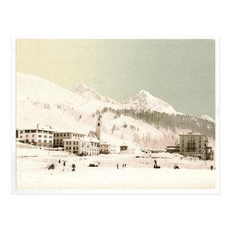 Carte Postale La Suisse en hiver
