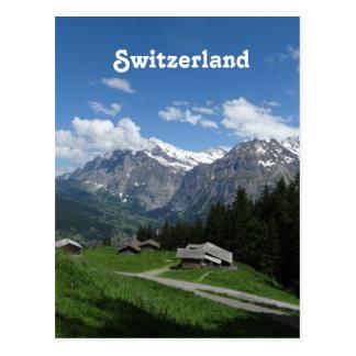 Carte Postale La Suisse glorieuse