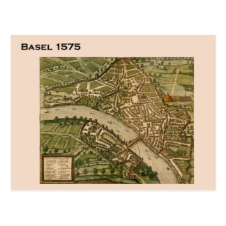 Carte Postale La Suisse historique, Bâle 1575