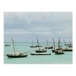 Carte Postale La Tanzanie, Zanzibar, Nungwi