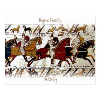 Carte Postale La tapisserie de Bayeux