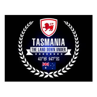 Carte Postale La Tasmanie