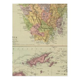 Carte Postale La Tasmanie, Fidji