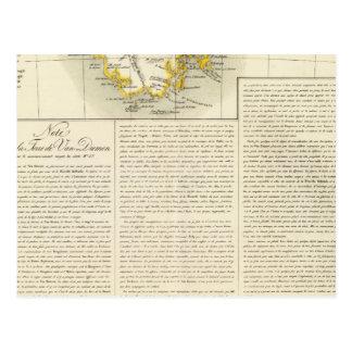 Carte Postale La Tasmanie Océanie aucuns 58