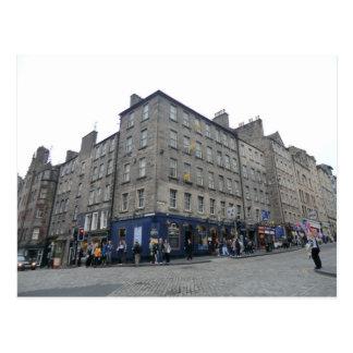 Carte Postale La taverne de l'extrémité du monde d'Edimbourg