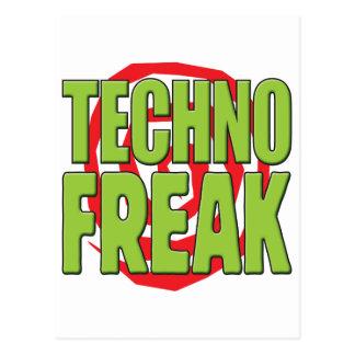 Carte Postale La techno Freak G
