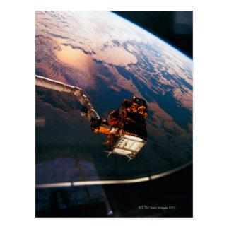 Carte Postale La terre de la navette spatiale 3
