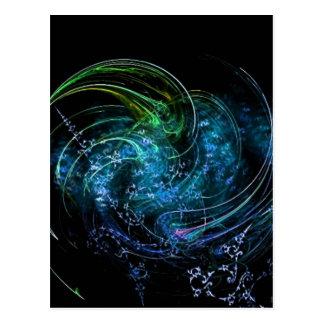 Carte Postale La terre et ciel