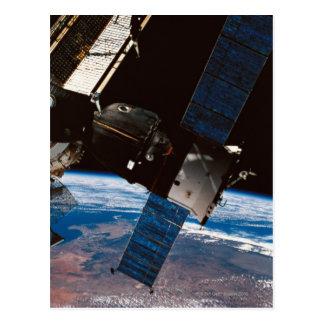 Carte Postale La terre orbitale 6 de station spatiale