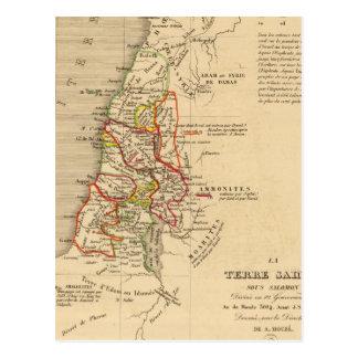 Carte Postale La Terre Sainte Salomon sous
