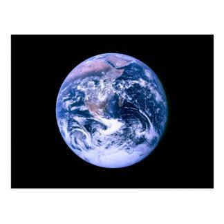 Carte Postale La terre vue de l'espace