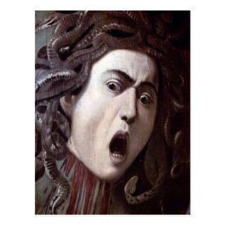 Carte Postale La tête de la méduse par Michaël Angelo Caravaggio