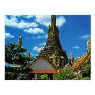 Carte Postale La Thaïlande, Bangkok, grande pagoda, Temple of