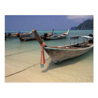 Carte Postale La Thaïlande, mer d'Andaman, île de phi de phi de