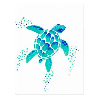 Carte Postale La tortue de Neptune
