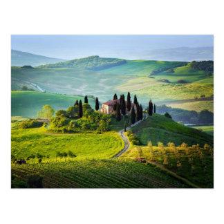 Carte Postale La Toscane