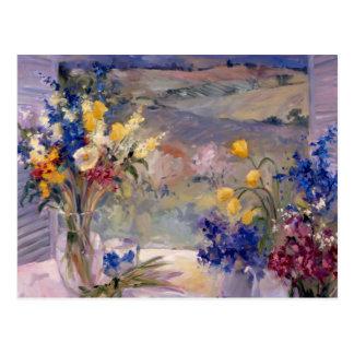Carte Postale La Toscane florale