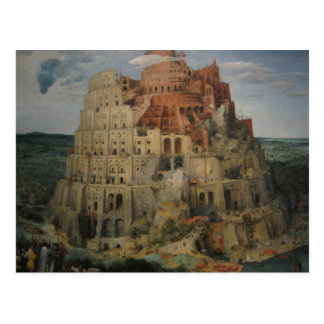 Carte Postale La tour de Bruegel de Babel