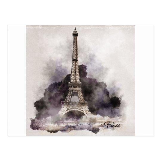 Carte Postale La Tour Eiffel de Paris.