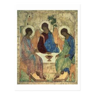 Carte Postale La trinité sainte, 1420s (tempera sur le panneau)
