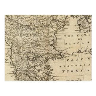Carte Postale La Turquie