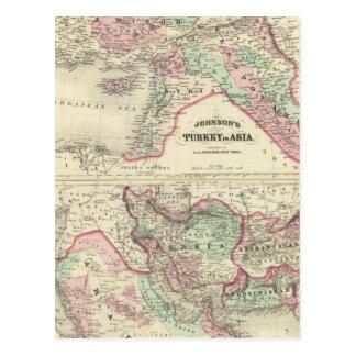Carte Postale La Turquie en Asie, Perse, Arabie, Beloochistan