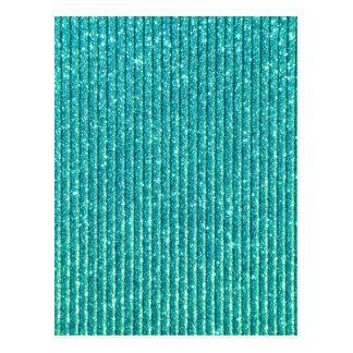 Carte Postale La turquoise miroite copie élégante de style