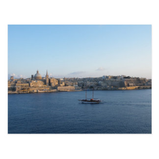 Carte Postale La Valette - Malte